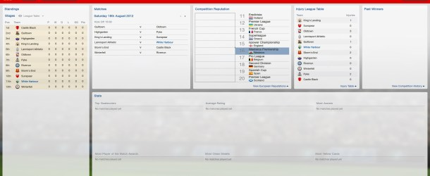 A Game of Thrones meets Football Manager – Part 3 – Major Improvement