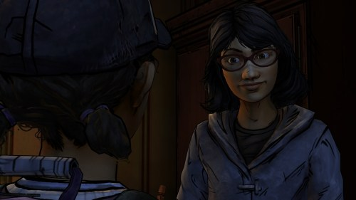 Clementine and Sarah S2 E2 Walking Dead