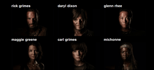 Walking Dead Season 1 Cast Photo Walking Dead Season 4 Cast