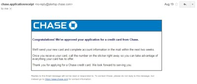 Chase Application Status Check + Tips on Reconsideration Phone Line / Number