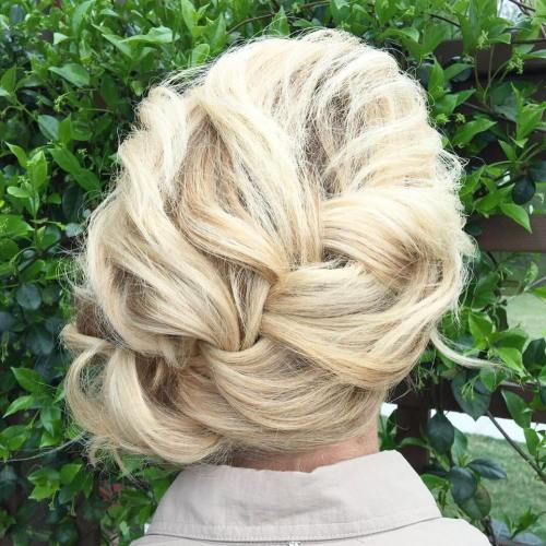 Voluminous Braided Updo
