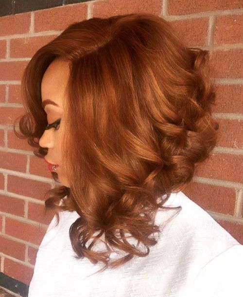 Angled Lob With Curled Ends