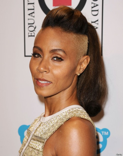Jada Pinkett Smith Mohawk