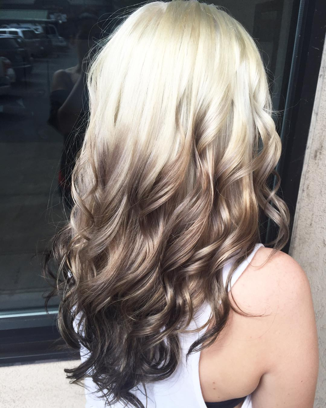 Pin Reverse Ombre Hair Color Tumblr On Pinterest