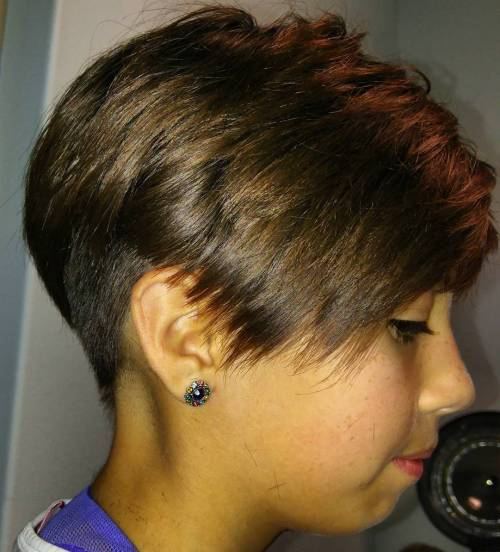 Pixie With Undercut For Girls