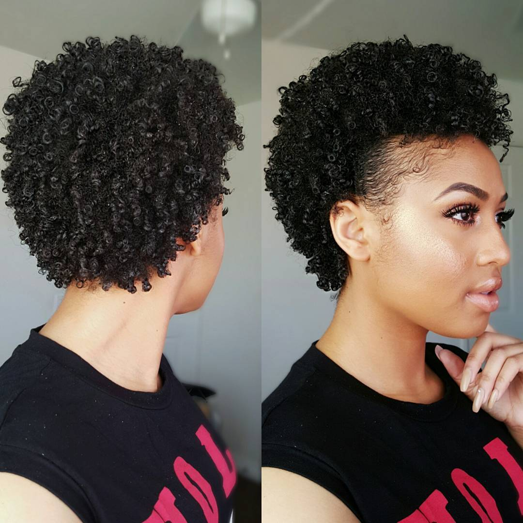 pics How to Style Very Short Curly Hair