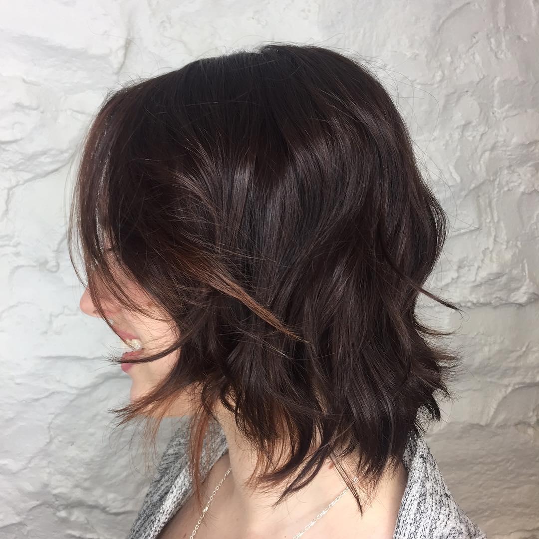 Choppy Medium Haircut