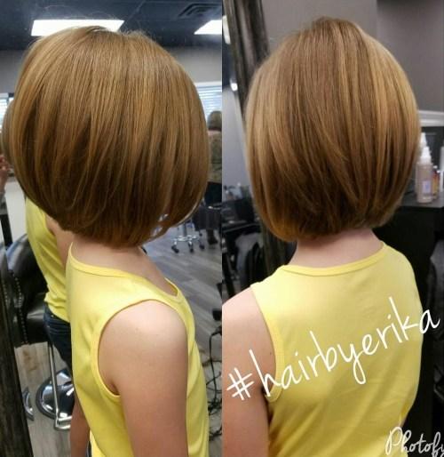 Little Girls' Layered Bob Haircut