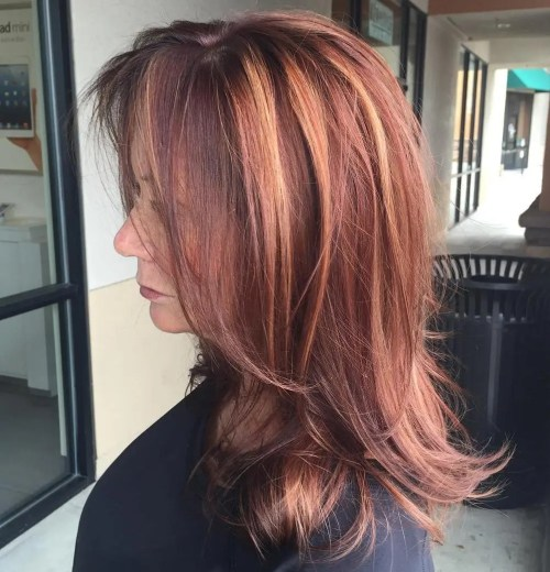 Medium To Long Haircut For Women Over 50