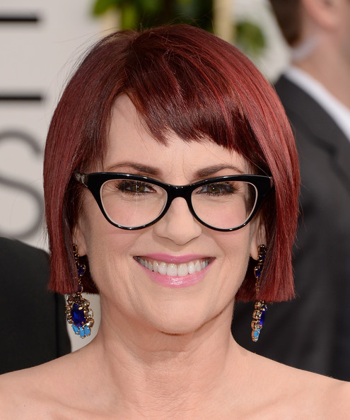 Megan Mullally short hairstyle for women over 50