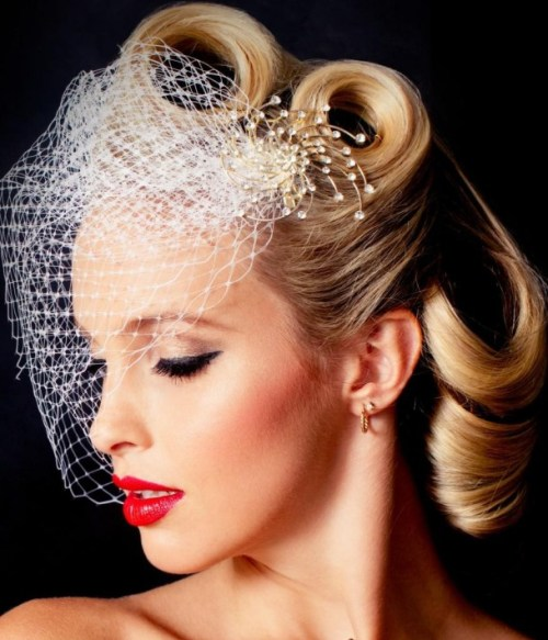 wedding vintage hairstyle