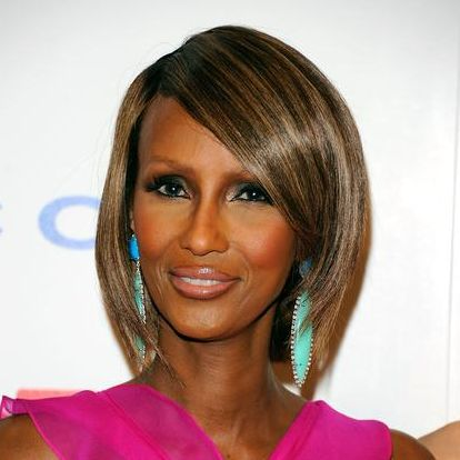 Iman bob hairstyle for women over 50