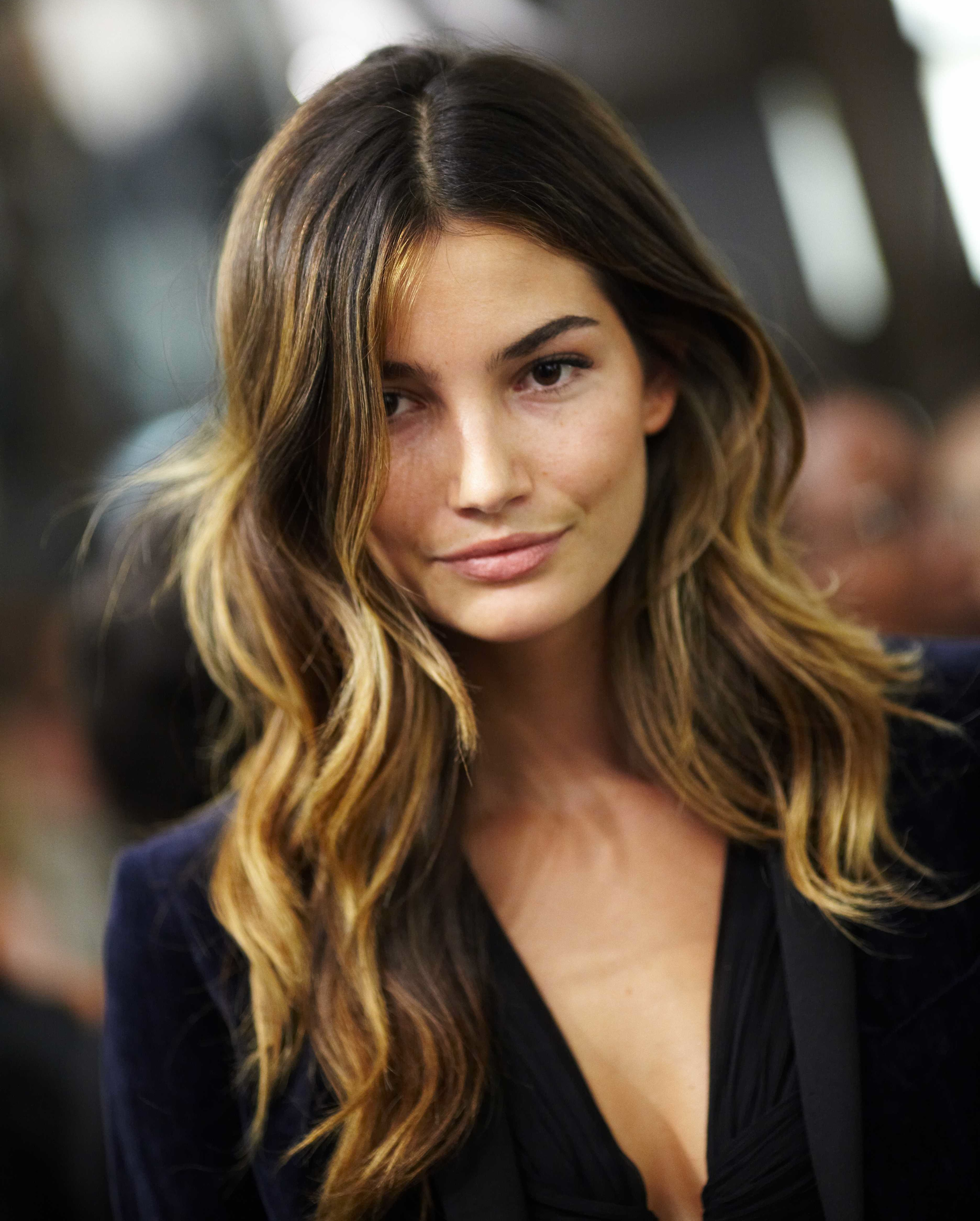 brown hair ombre Ombre Highlights For Dark Brown Hair