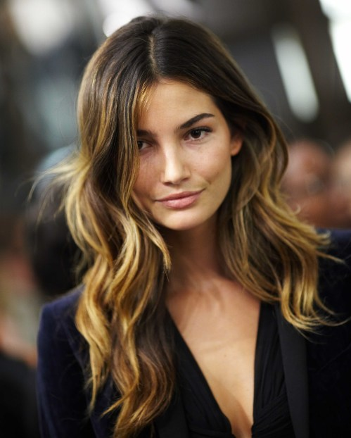 brown hair ombre