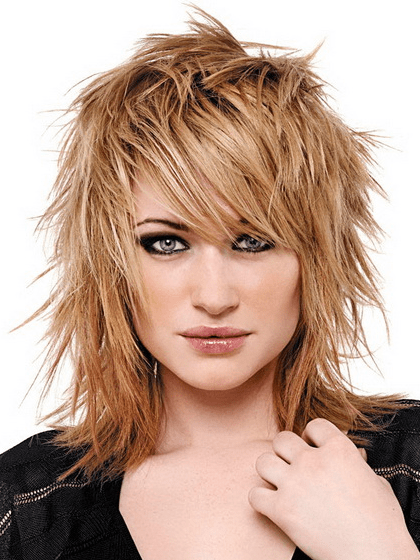 Punk Rock Medium Hairstyles