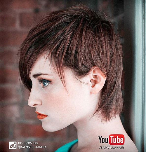 pixie haircut for thin hair