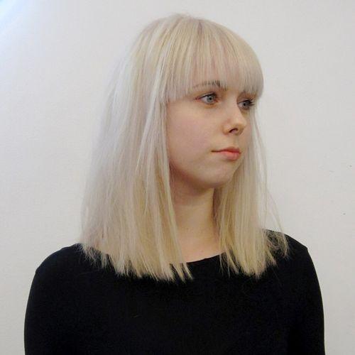 blunt medium length haircuts