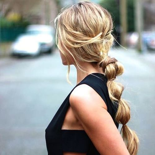 Valentino bubble ponytail