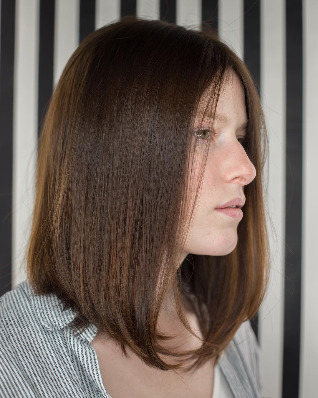 Long Brown Bob