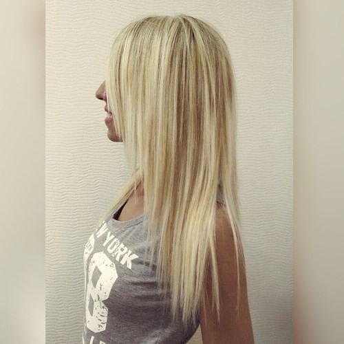 long layered haircut for fine hair