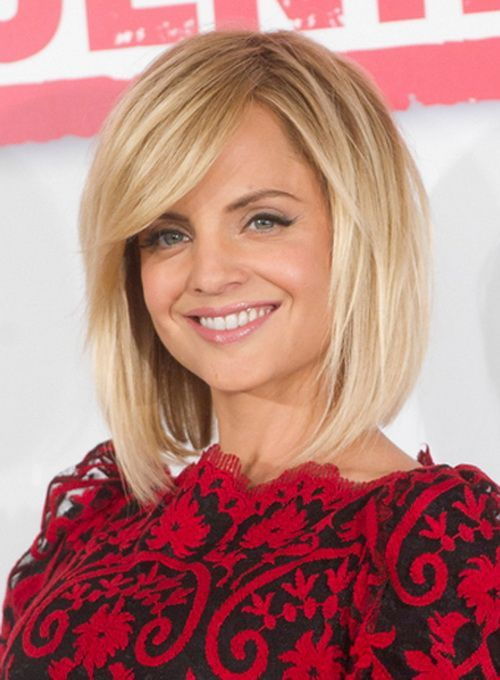 medium length bob haircut for fine hair