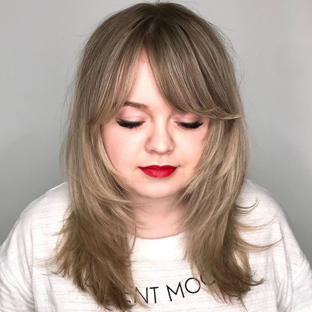 images Best layered hairstyles for oval, long and round faces