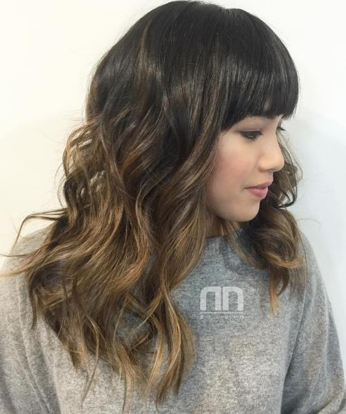 Black To Golden Brown Ombre Hair