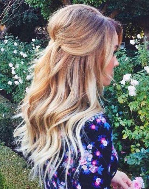 Half-Updo Hairstyles