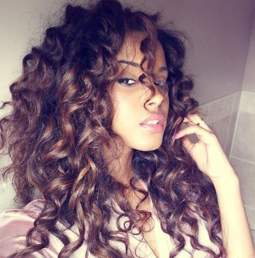 Beautiful, Bouncy Curls