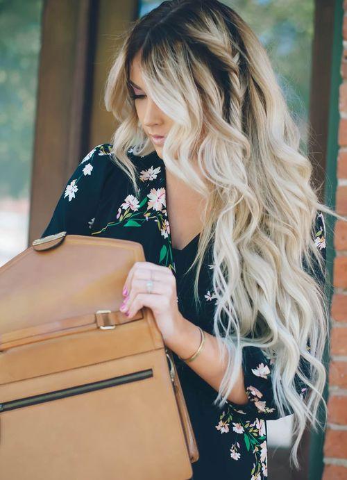 Wavy Hairstyle with A Hidden Twist