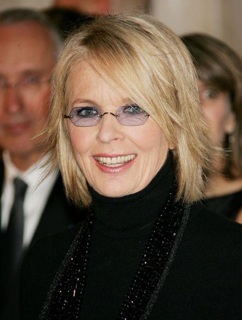 Diane Keaton short hairstyle