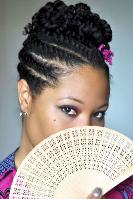 5 Super Creative Updo Hairstyles For Black Women
