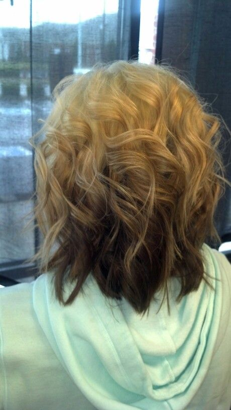 reverse ombre hair with perfect