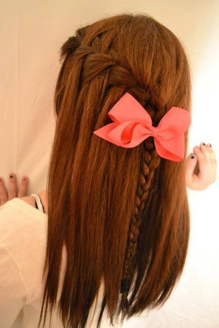 homecoming hairstyle for medium hair