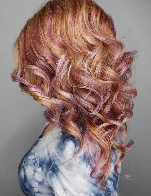 Black hair with strawberry blonde highlights best black hair 2017 highlights and lowlights for medium hair pmusecretfo Choice Image