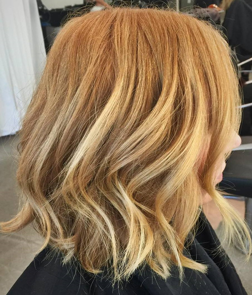 40 blonde hair color ideas with balayage highlights for Caramel blond