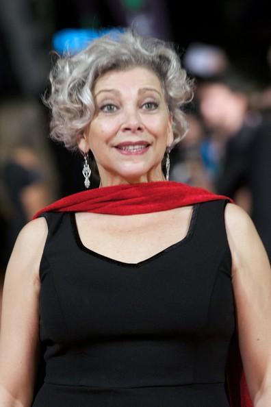 Kiti Manver grey hairstyle