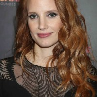 Jessica Chastain long haircut