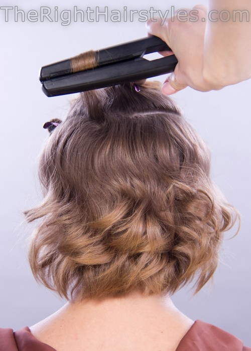 how to do messy curls