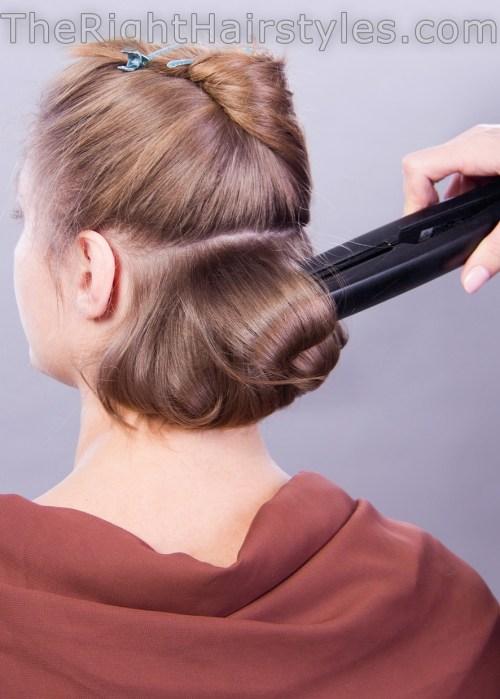 Hair Ups For Short Thin Anexa Beauty