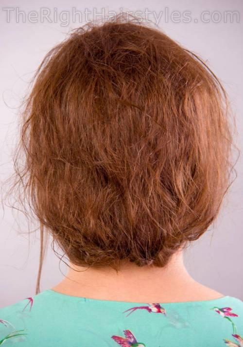 bedhead hair updo