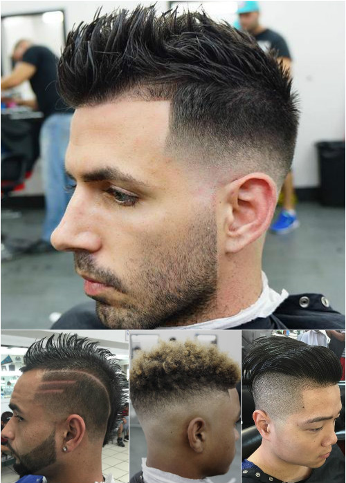 men's fauxhawk hairstyles