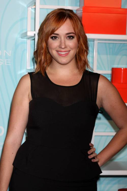Andrea Bowen red bob hairstyle