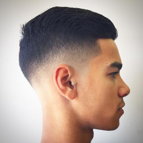 Undercut Fade For Teenage Boys