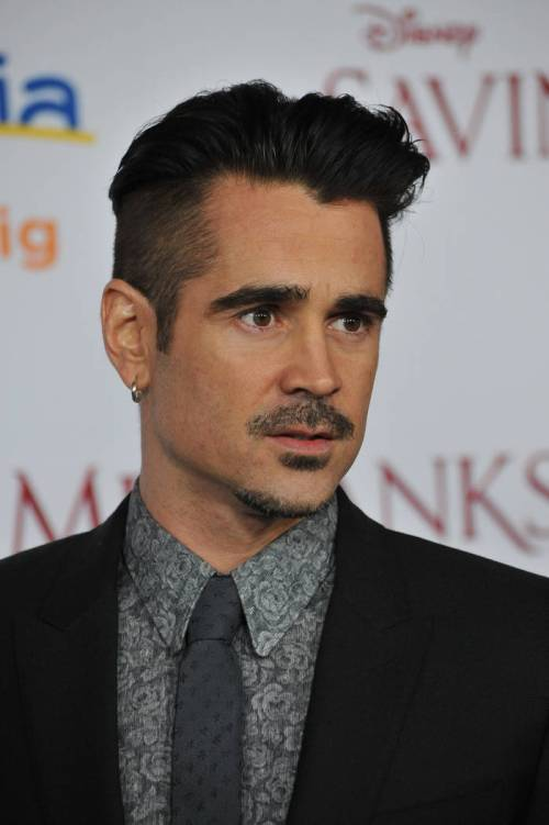 Colin Farrel short hairstyle for boys and men