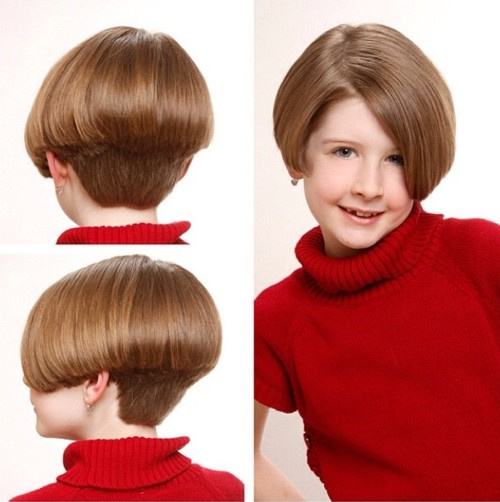stacked bob for 8 year olds