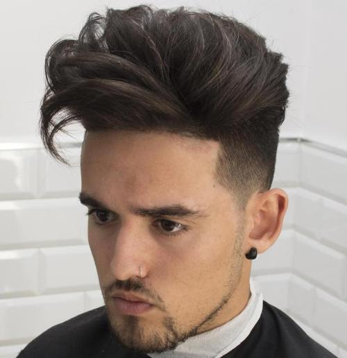 Long Top Undercut For Guys