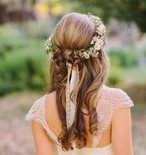 Half Up Half Down Wedding Hairstyles – 40 Stylish Ideas ... - photo #29