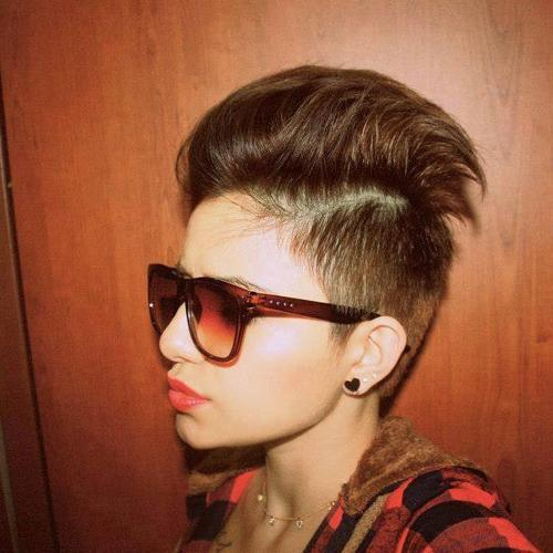 mohawk hairstyle for pixie cut