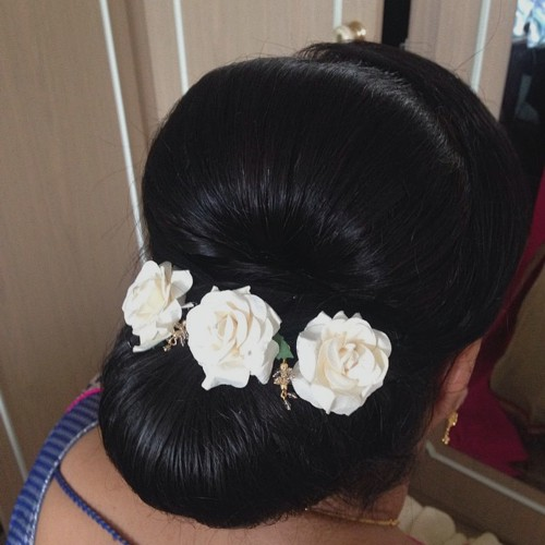 mother of the bride low chignon